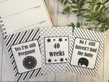 Pregnancy Journey & Reality Cards ® Monochrome DD012