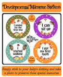 Developmental Journey Stickers - Forest Animals - DD061