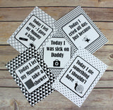 Alternative Baby Journey Cards ® Monochrome DD009