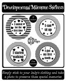 Developmental Journey Stickers - Monochrome - DD063