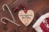 First Christmas as Mr & Mrs Printed Decoration