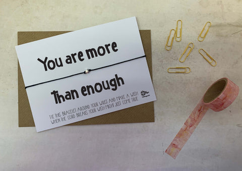 Wish bracelet - You are more than enough DD1604