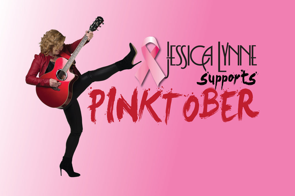 Jessica Lynne Supports Pinktober