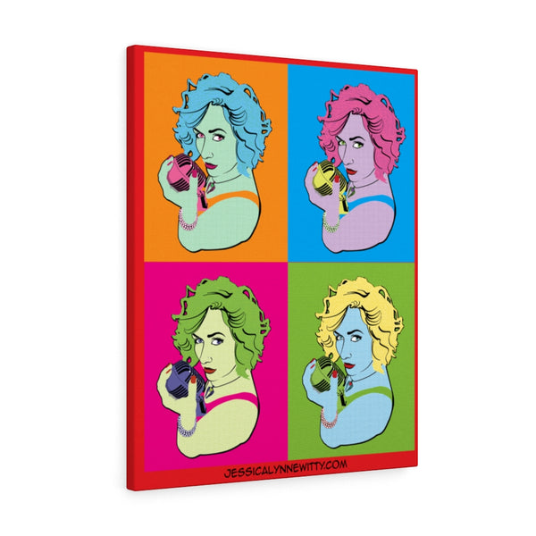 "Jessica Lynne Witty ""Warhol Style"" Art on Canvas Gallery Wraps"