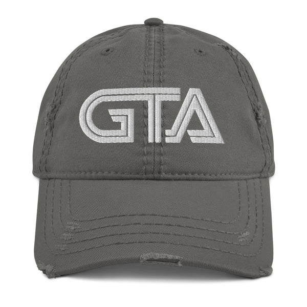 Grieve The Astronauts Distressed Dad Hat