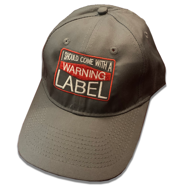 Jessica Lynne Warning Label Cap