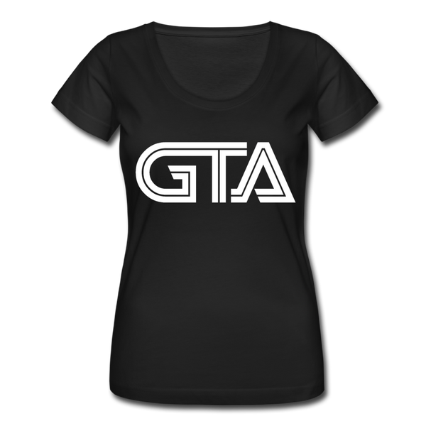 Grieve The Astronaut GTA Women's Scoop Neck T-Shirt - black