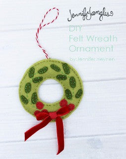Make It - Felt Holiday Wreath!