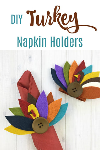 Make It - Turkey Feather Napkin Rings!