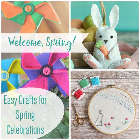 Easy crafts for Spring