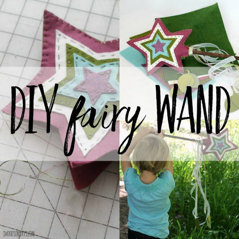 DIY Felt Fairy Wand