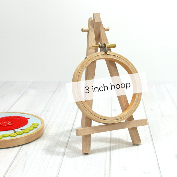 Mini Display Easel, Natural Beech Wood, 6.5 inches - Busy Little Bird