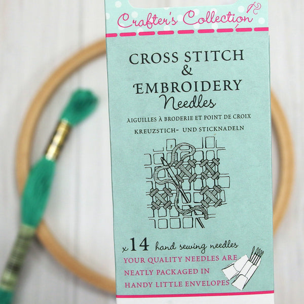 John James Cross Stitch & Embroidery Needles, Crafter's Collection - Busy Little Bird