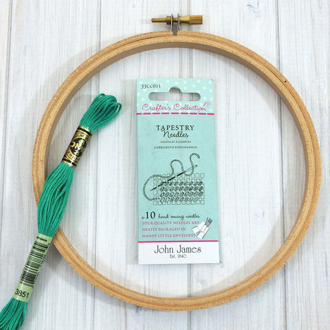 John James Tapestry Needles, Crafter's Collection - Busy Little Bird