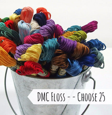 DMC Embroidery Floss, Choose 25 - Busy Little Bird