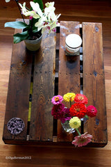 Upcycled Furniture Ideas /Pallet Coffee Table