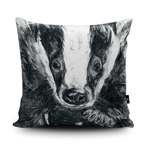 Country Home Badger Cushion...Handmade - Country Living Home Accessories,  Cushions - Home Accessories, Field & Pheasant  Field & Pheasant