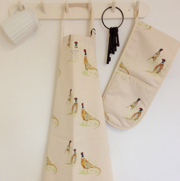Country Kitchen Pheasant Apron - Country Living Home Accessories,  Apron - Home Accessories, Field & Pheasant  Field & Pheasant