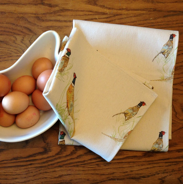 Country Kitchen Pheasant Tea Towel - Country Living Home Accessories,  Tea Towel - Home Accessories, Field & Pheasant  Field & Pheasant