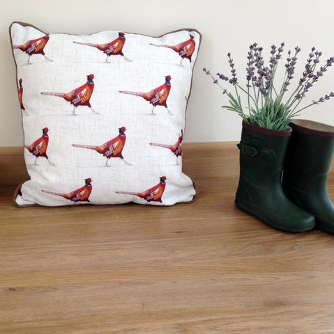Luxury Country Pheasant Cushion ...Limited Edition - Country Living Home Accessories,  Cushions - Home Accessories, Field & Pheasant  Field & Pheasant