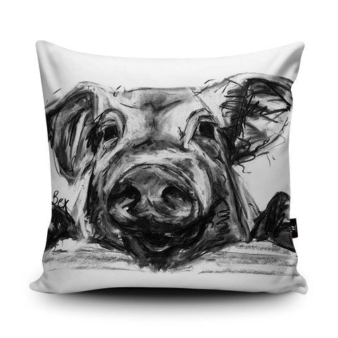 Country Home Pig Cushion...Handmade - Country Living Home Accessories,  Cushions - Home Accessories, Field & Pheasant  Field & Pheasant