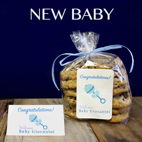 CUSTOM COOKIE FAVORS FOR BABY SHOWER