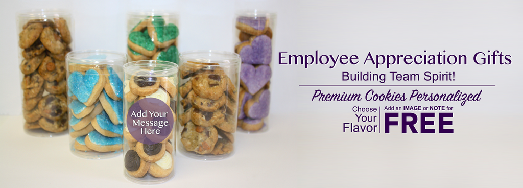 Employee Appreciation Cookie Gifts personalized and branded