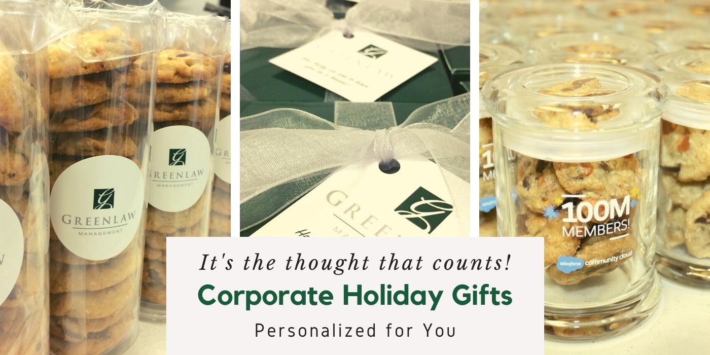 corporate holiday gifts for clients, customers, and employees by Super Love Cookies