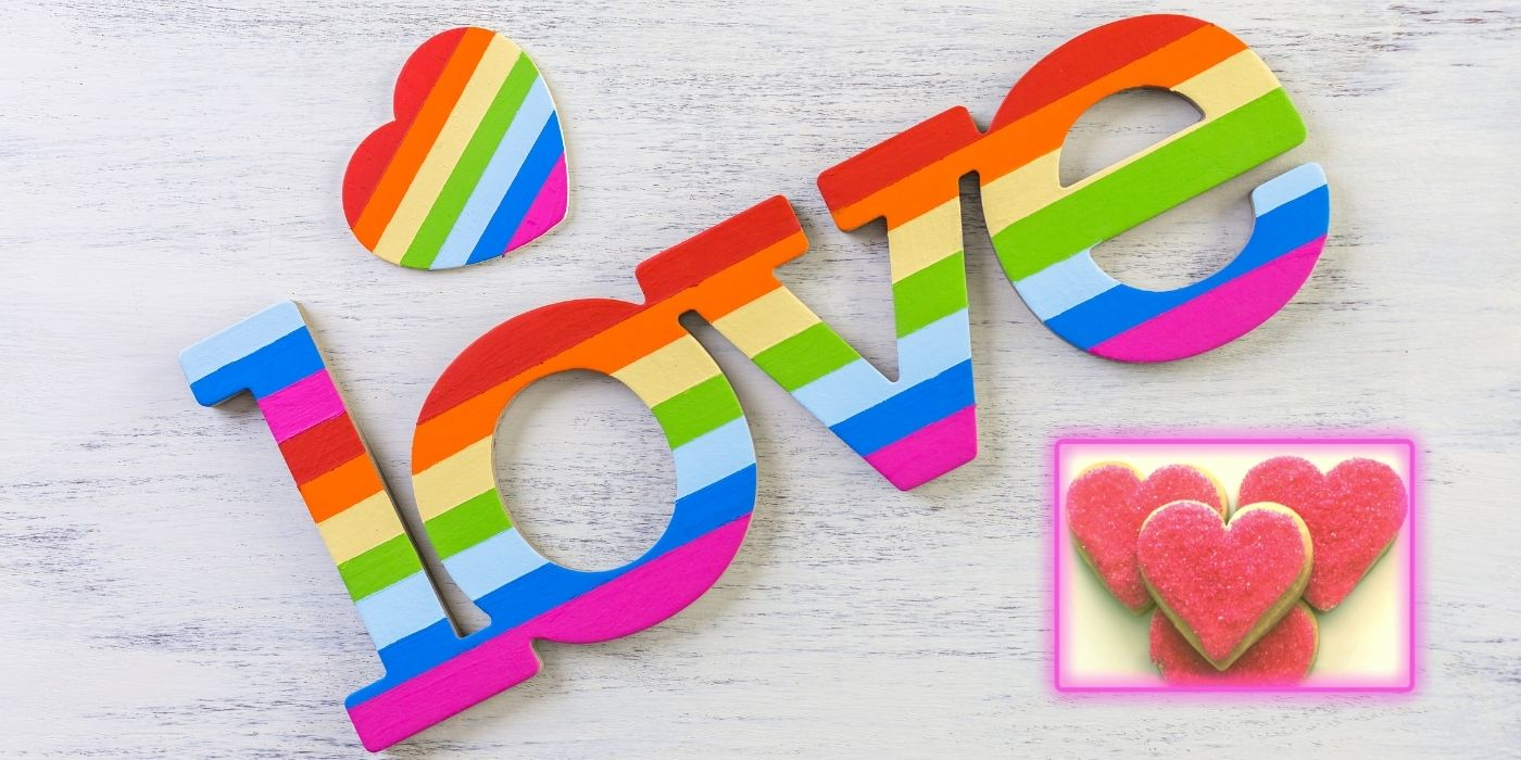 Rainbow cookie gifts support gay pride 2021