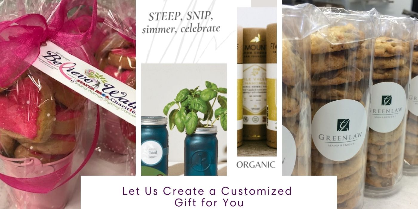 Personalized cookie gifts and elevated corporate gifts for remote employees, clients and friends