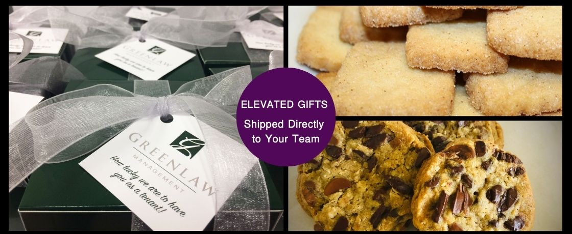 gifts for your remote employees. cookie gifts to help connect your virtual teams