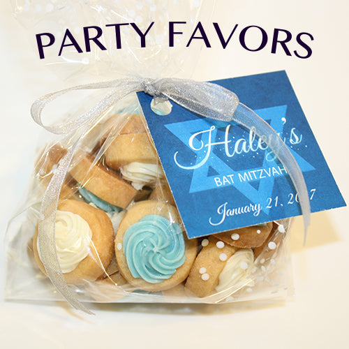 Bar Mitzvah and Bat Mitzvah Cookies and Party Favors