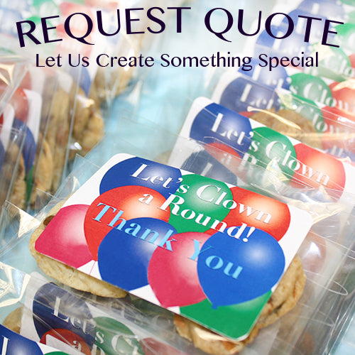 Request A Quote for Custom Cookie Gifts