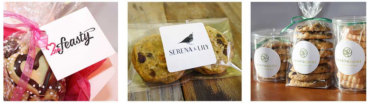 Wrapped & Ready – Branded Cookies with Custom Tags and Personalized Labels