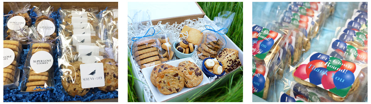 SuperLove Cookies Custom Corporate Gifts & Favors