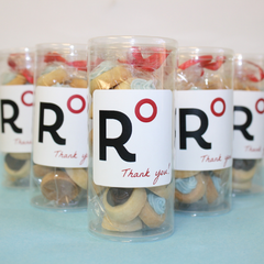 premium promotional gifts and cookie favors for trade shows and events by SuperLove Cookies
