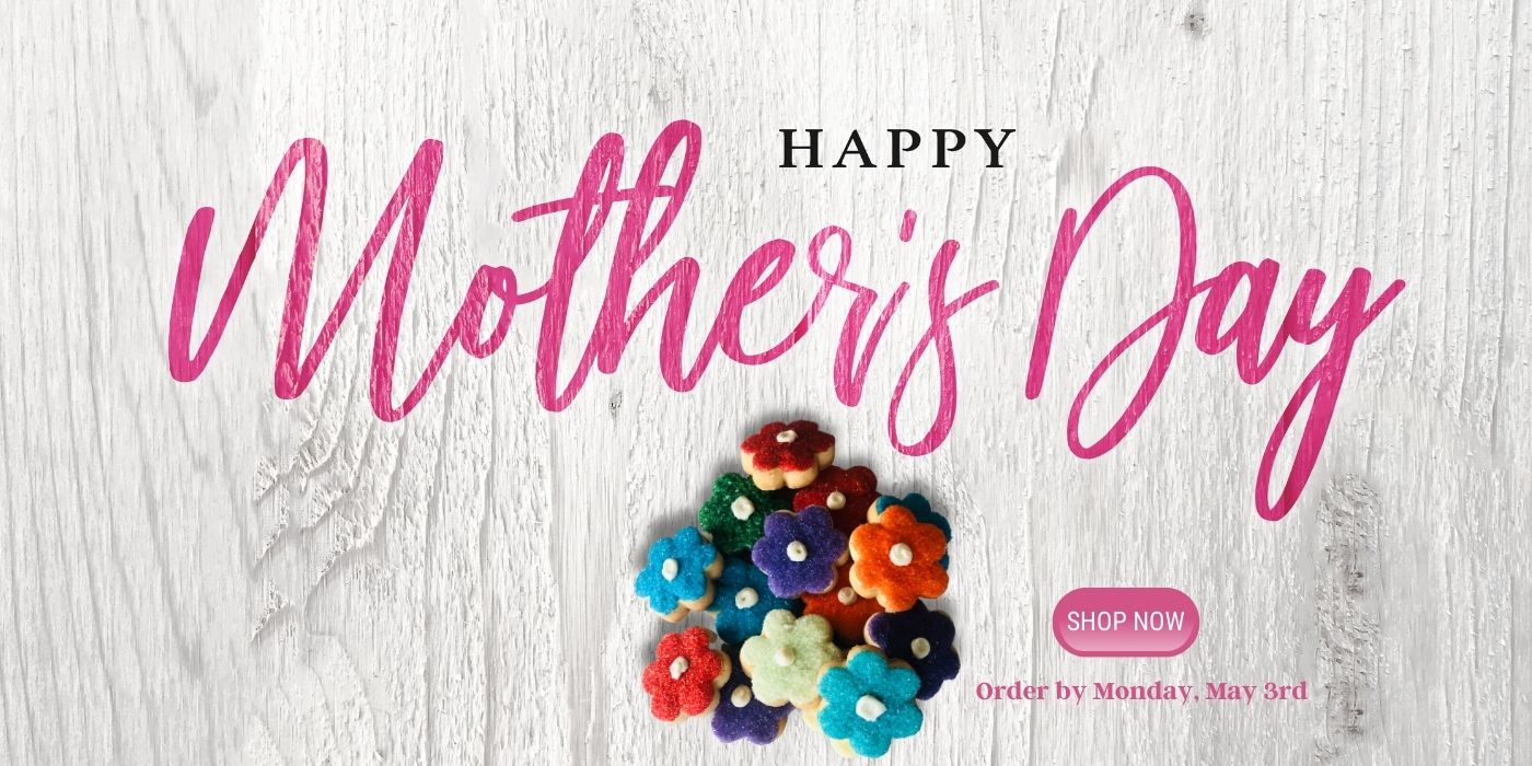 Mother's Day Gifts under $50 | cookies for mom | candles for mom | ships us