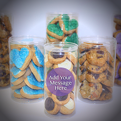 Branded cookie gifts for employee recognition and appreciation or personalized for events by SuperLove Cookies
