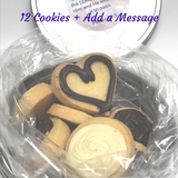 SUPPORT OUR TROOPS | PERSONALIZED COOKIE TINS Dark Chocolate + White Chocolate Cookies