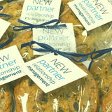 chocolate chip cookie favor | corporate gifts, employee appreciation, wedding favor super love cookies