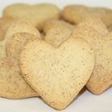 Heart shaped snickerdoodle cookies | personalize with prayers