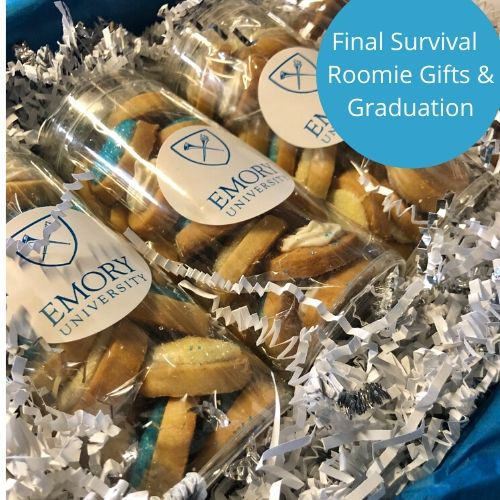 Emory cookie gifts. Celebrate new roommate gifts, graduation gifts or finals care package