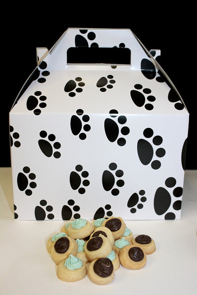 "For the Love of Dogs – 4 Dozen Little Dot Sugar Cookies (1"")"