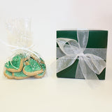 Green Heart Shaped Sugar Cookies | 16 Cookies 1.5""