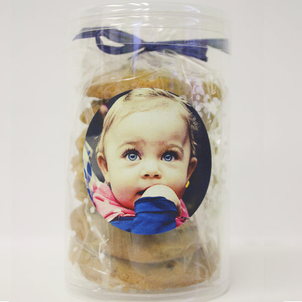 "Gourmet Chocolate Chip Cookies ""Crazy Chip"" Tubes - Share the Love"