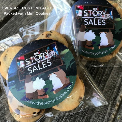 BRANDED COOKIE FAVOR | MINI CHOCOLATE CHIP SUGAR COOKIE