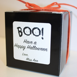 ship halloween cookie box to friends. chocolate chip cookie gift