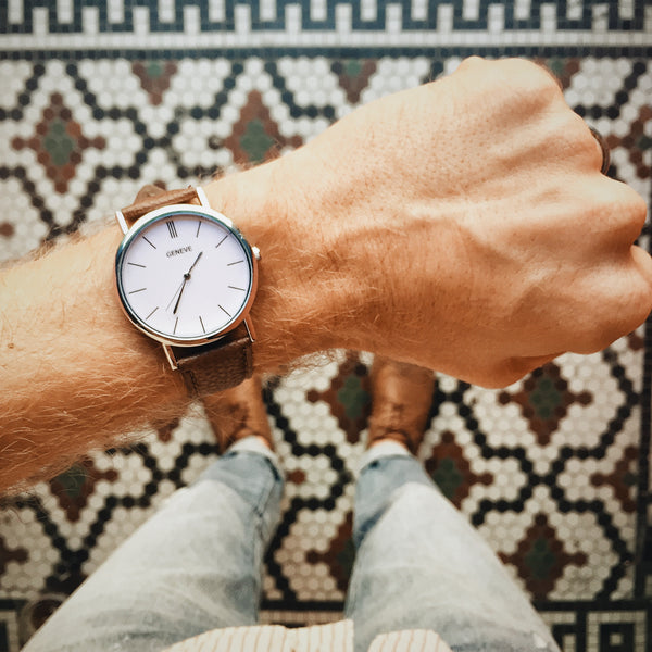 The Vegan Minimalist Watch - Brown - Shop Stay Classic - 6