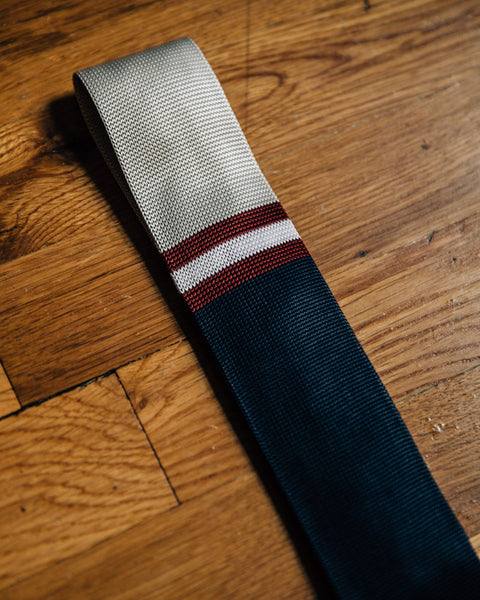 The 1959 Skinny Tie - Navy - Shop Stay Classic - 3