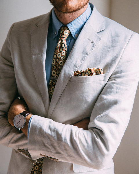 The Harrison Pocket Square - Shop Stay Classic - 4